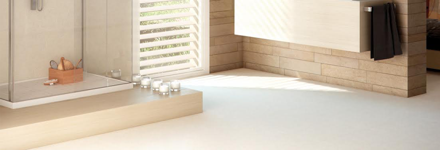 Salle de bain moderne avec douche italienne - Salle de bain moderne avec douche italienne ...