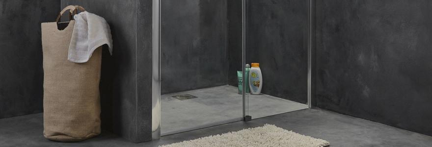 etagere douche italienne elegant etagre dans la douche mur bton douche italienne with etagere. Black Bedroom Furniture Sets. Home Design Ideas
